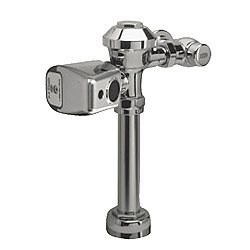 Commercial Flush Valve with Battery Powered Electronic Sensor