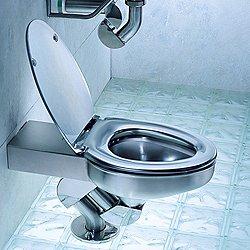Metaal Toilet