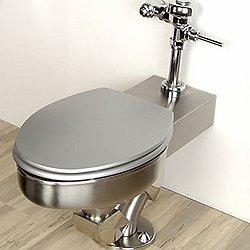 Metaal Toilet - Floor Waste