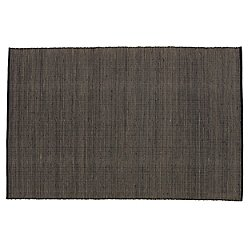Tatami Rug (Black/ 5 ft 7 in x 7 ft 10 in) - OPEN BOX RETURN