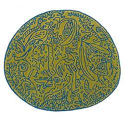 Bichos y Flores Pistachio Rug