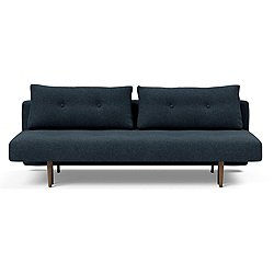 Recast Plus Sofa, Dark Wood Base