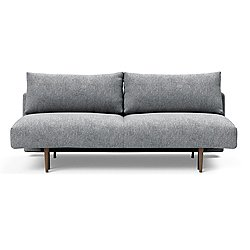 Frode Sofa, Dark Wood Base