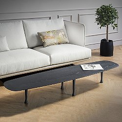 Mesa Unica Coffee Table (Black Stained Ash)- OPEN BOX RETURN