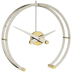Omega Table Clock (Gold) - OPEN BOX RETURN