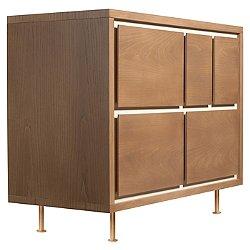 Novella 5-Drawer Dresser (Ash/Ivory) - OPEN BOX RETURN