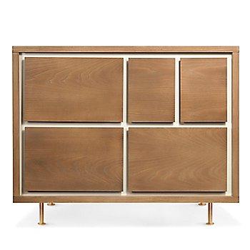 Novella 5-Drawer Dresser in Ash/Ivory