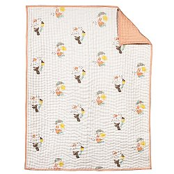 Menagerie Hand-Quilted Blanket
