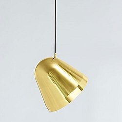 Tilt Brass Pendant Light