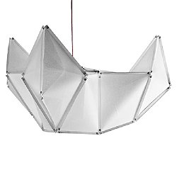 Fold Onyx LED Pendant Light