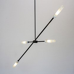 Flute Wand 30L LED Multi-Light Pendant Light