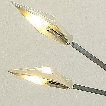 Brushed Nickel finish / Burst size / Detail view