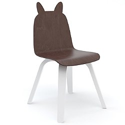 Rabbit Play Chairs, Set of 2 (Walnut Rabbit Play Chair) - OPEN BOX RETURN