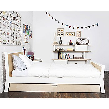 Sparrow Twin Bed with Mini Library Bookshelf