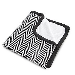 Black & White Stroller Blanket