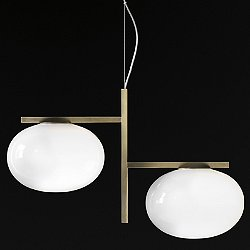 Alba 2-Light Pendant Light