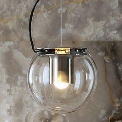 Globe Pendant (Nickel/Large) - OPEN BOX RETURN