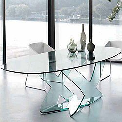 Ghost Oval Table