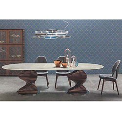 Big Firenze 118-Inches Dining Table