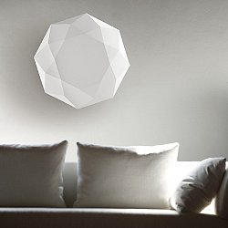 Diamond Wall/Ceiling Light