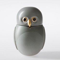 Screech Owl Sculptural Vessel