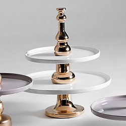 Issima! Two Tier Serving Tray