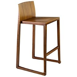 Hanna Counter Stool (Walnut) - OPEN BOX RETURN