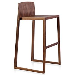 Hanna Bar Stool (Walnut) - OPEN BOX RETURN