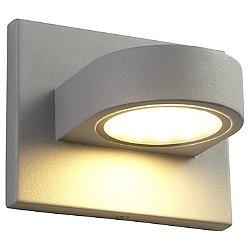 Eris LED Short Outdoor Wall Light (Grey) - OPEN BOX RETURN
