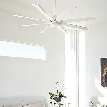 White finish / in use in room