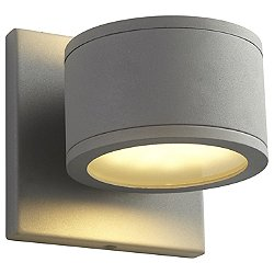 Ceres Two Light Outdoor Wall Sconce (Grey) - OPEN BOX RETURN
