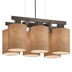 Kimono 6-Light Chandelier