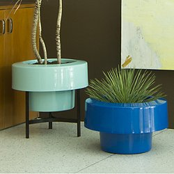 PODs Planter Version 1.0 Half Skirt, Turquoise