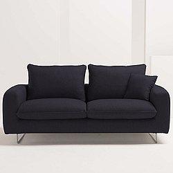 Scirocco Sleeper Sofa by Pezzan (Dark Grey)-OPEN BOX RETURN