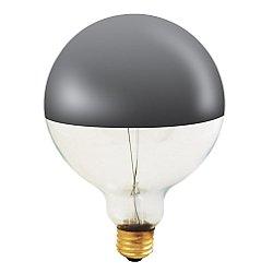 100W 120V G40 E26 Half Chrome Bulb 2-Pack