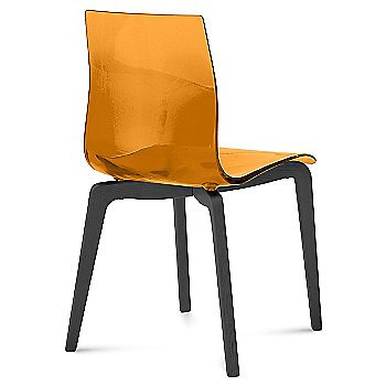Transparent Orange / Anthracite finish