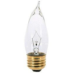 25W 120V CA10 E26 Clear Bulb (6-Pack)