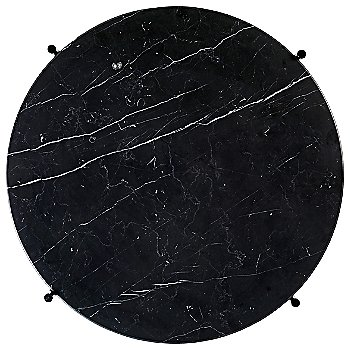 Black Marquina Marble Top finish / Black Base finish