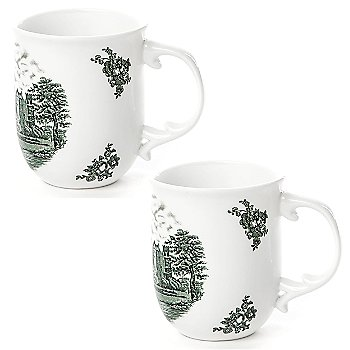 Fedora Mug Set of 2