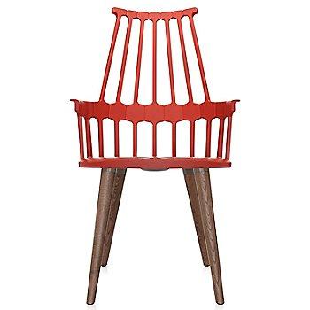 Orangy Red color