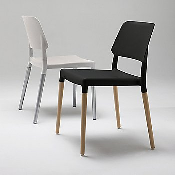 Belloch Chair - Aluminum Base, in use
