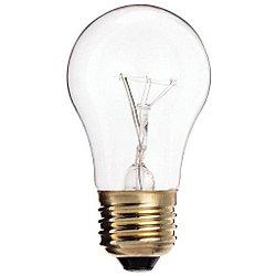 25W 130V A15 E26 Clear Bulb 4-Pack