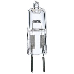 35W 12V T4 GY6.35 Halogen Clear Bulb 2-Pack