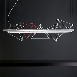 Rock Garden Linear Suspension Light