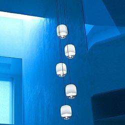 Gong Mini 5 Pendant Chandelier
