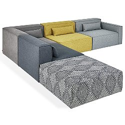 Mix Modular 5 Piece Sectional Sofa