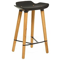 Pilot Kitchen Stool (Black) - OPEN BOX RETURN