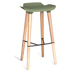 Pilot Bar Stool (Army) - OPEN BOX RETURN