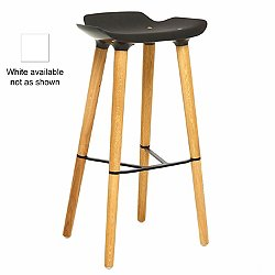 Pilot Bar Stool (White) - OPEN BOX RETURN