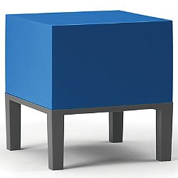 Primary Pouf 01 by Quinze & Milan (Blue Clear) - OPEN BOX